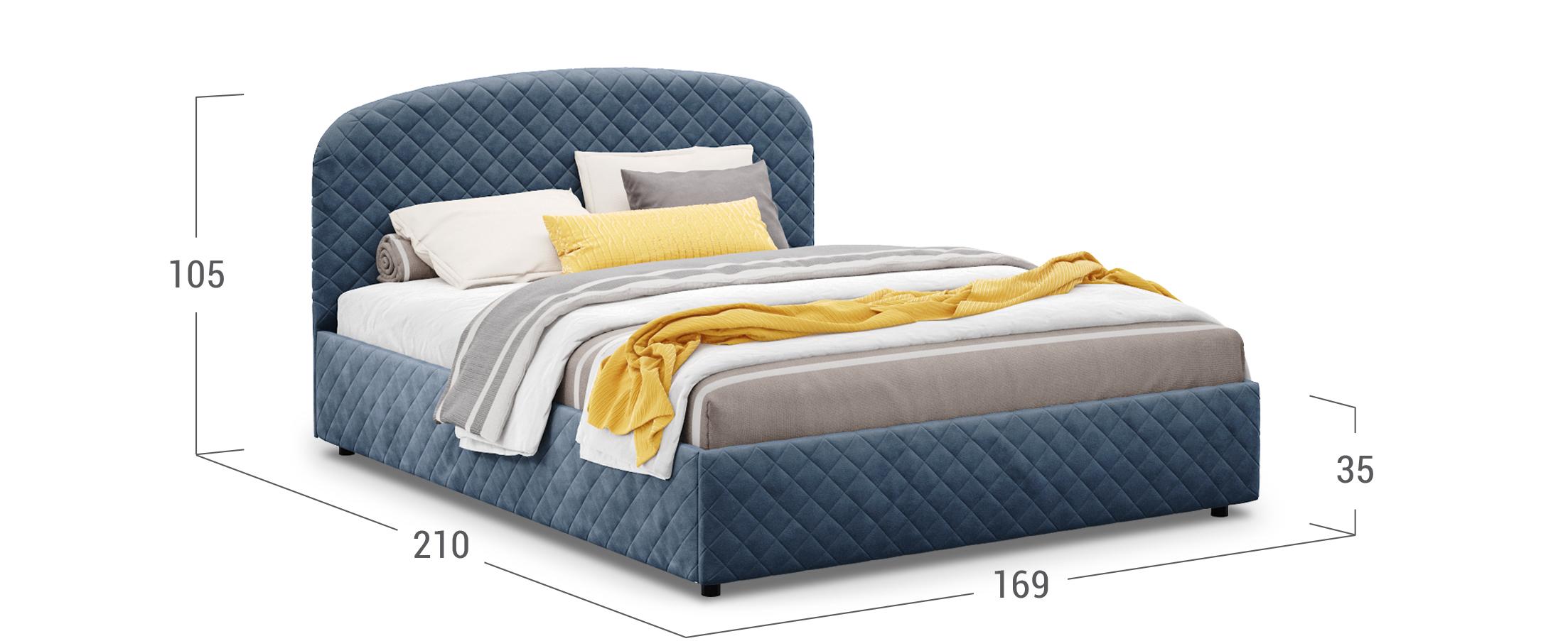 Кровать двуспальная Аллегра 160х200 Модель 1204