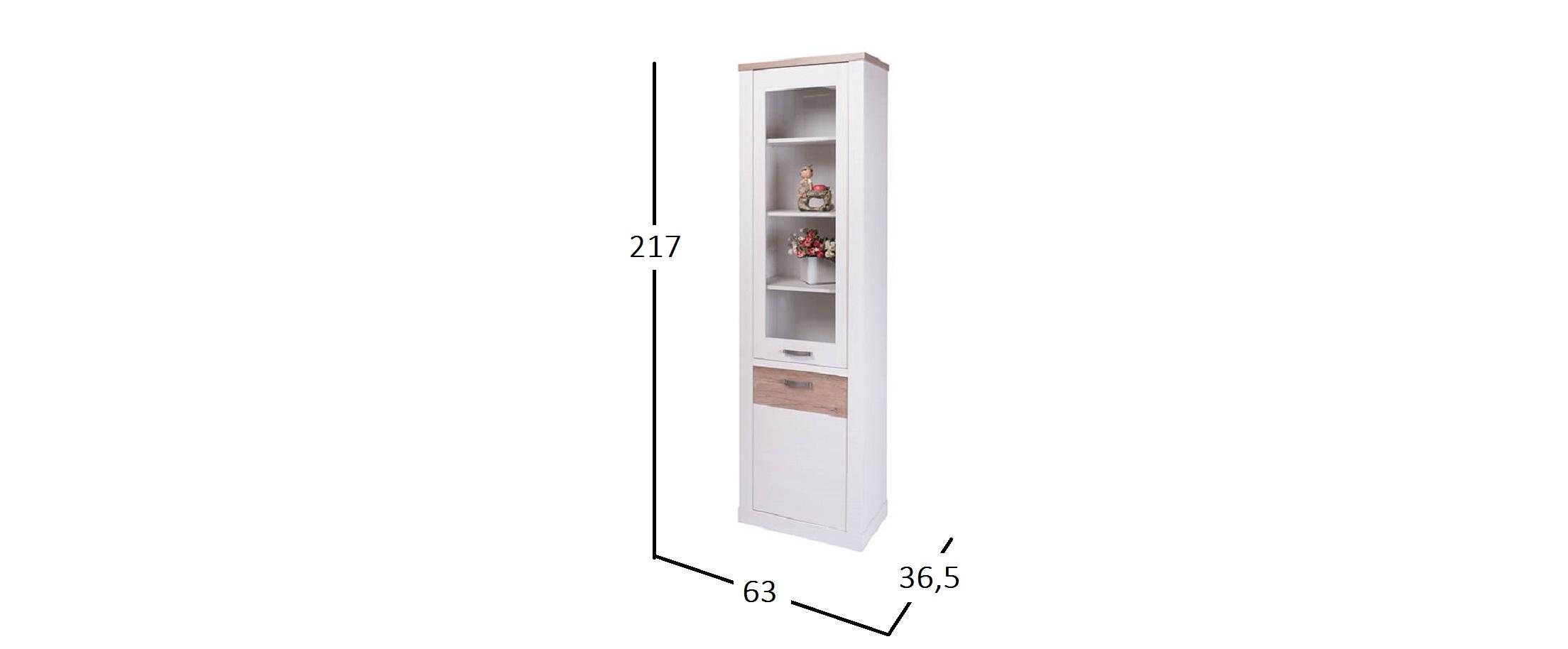 Шкаф-пенал Прованс Модель 733